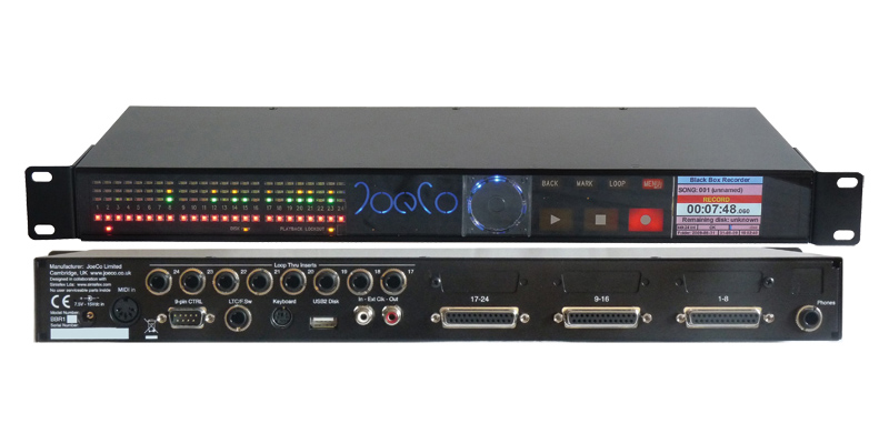 JoeCo Black Box 24 channel Recorder / Player.