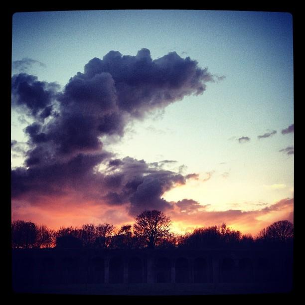 Tricolour sky