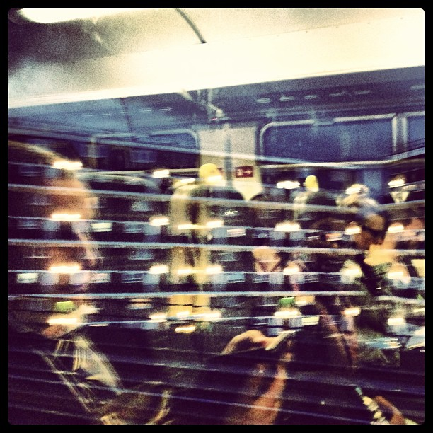 Back in London…view from my window. #reflections #london #trains #travel #commuting