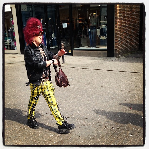Fashion in Brighton… Love it! Lol