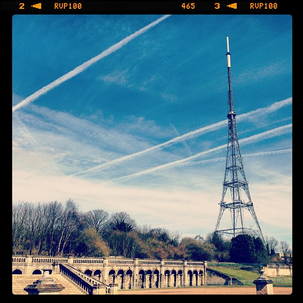 Beautiful day at Crystal Palace…