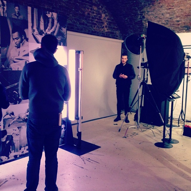 Shooting for Nike today… Amazing day! #nike # photoshoot #photography #football #london