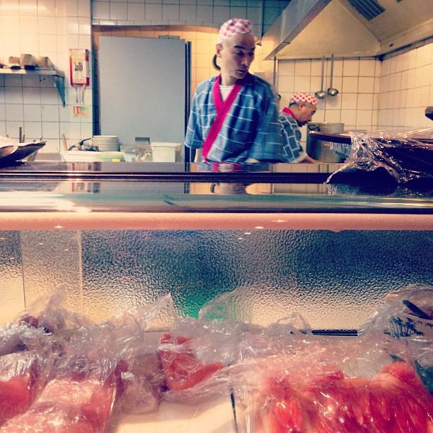 Chefs… #Japanese #food #restaurant #sushi #fish #soho #london #photography #culture