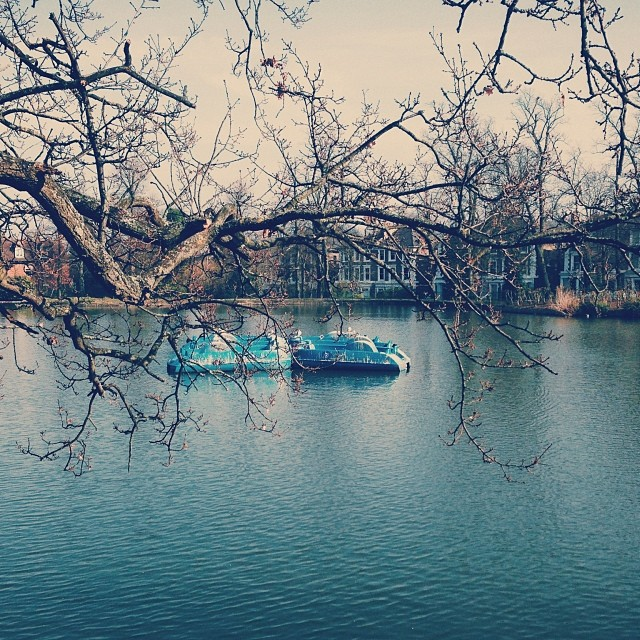 Lonely boats… #crystalpalacepark #London #sunnyday #uk #lake #boats #dayout #fun
