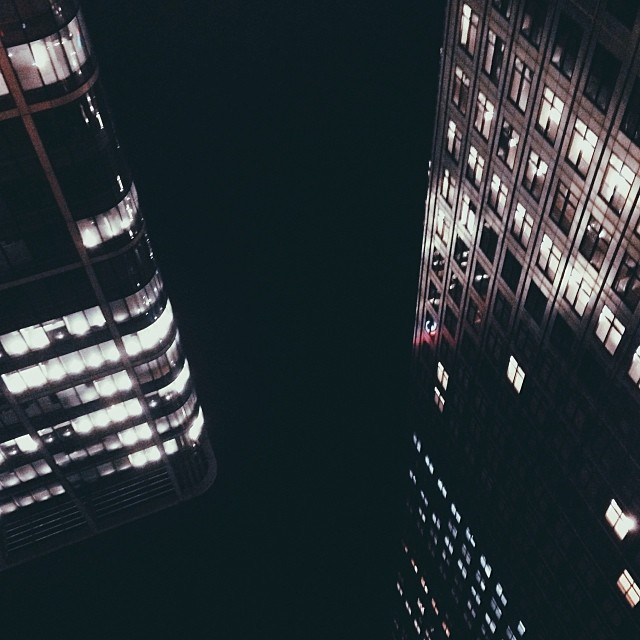 Stop and see things upside-down… See what you come up with?… #city #london #canarywharf #buildings #lights #night #photography #stills #upside-down #view #uk