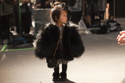 couturecourier :     A mini-fashionista in the making! So cute!…. you got to love this!!!