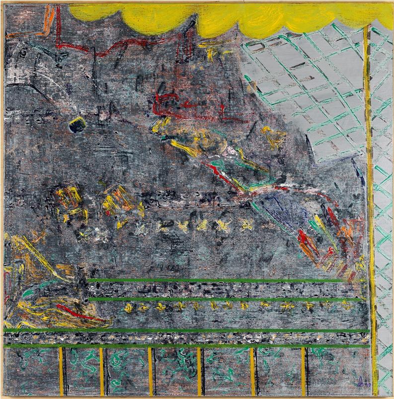En Berne 100x100 cm, 2009