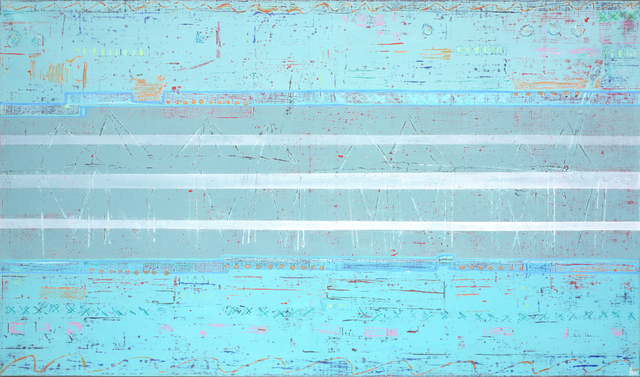 Miami 91x152 cm, 2002