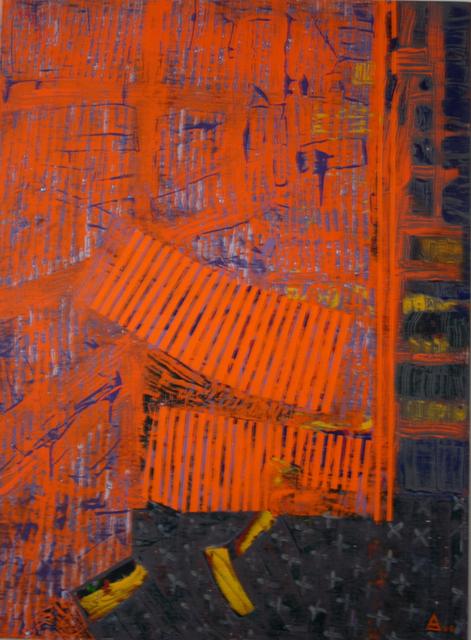 Orange 130x97 cm, 2008