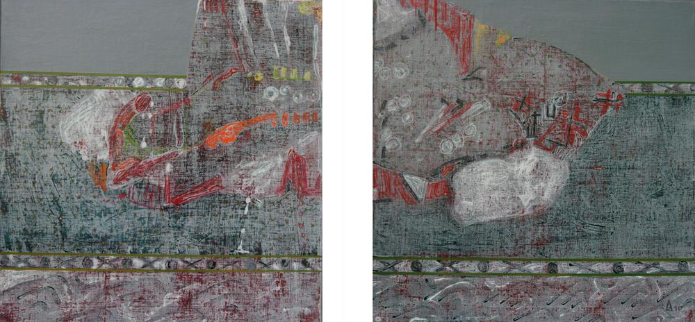 Gris II 80x80 cm, 2009