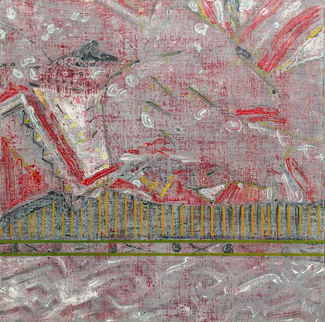 Gris III 80x80 cm, 2009