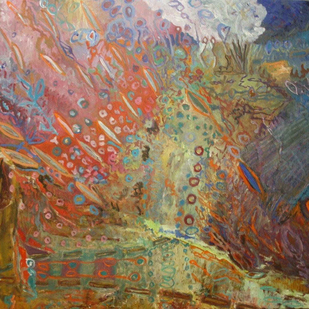 Variation VI  120x120 cm, 2013