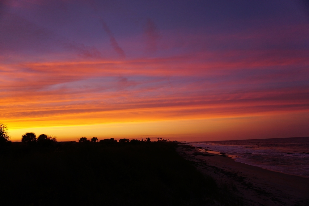 Sunset in Flagler County. Photo by Anna Hamilton.