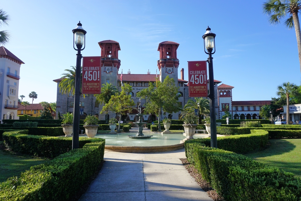 City hall, St. Augustine, Florida. Photo by Daniel Ward.