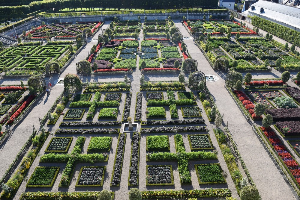 Photo from the  official site  of the Chateau de Villandry.
