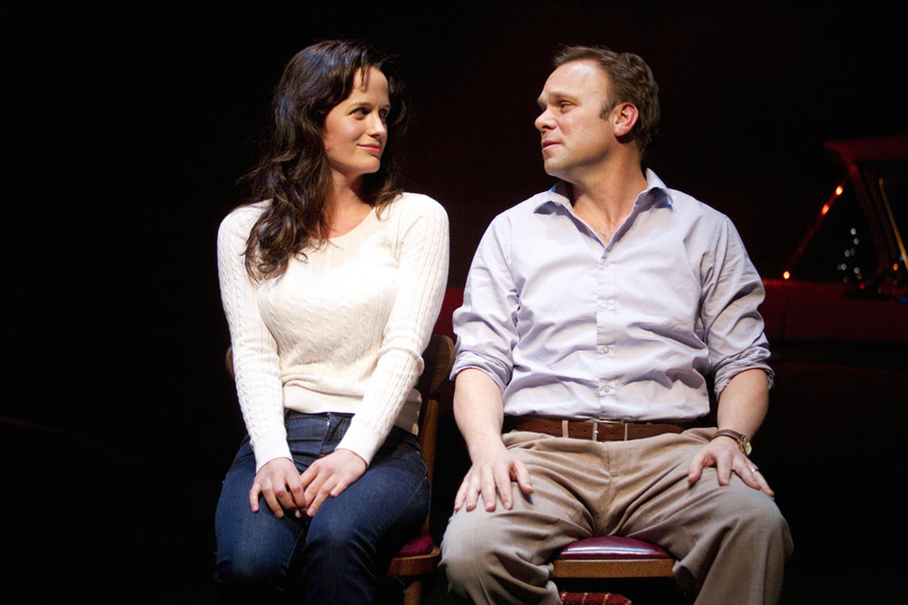 HOW I LEARNED TO DRIVE, SECOND STAGE 2010. ELIZABETH REASER, NORBERT LEO BUTZ. PHOTO: SARA KRULWICH.