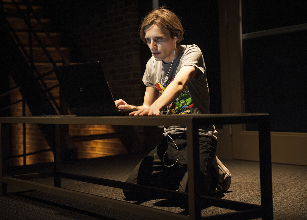 TEDDY FERARRA, GOODMAN THEATRE, 2013. RYAN HEINDL. PHOTO: LIZ LAUREN.