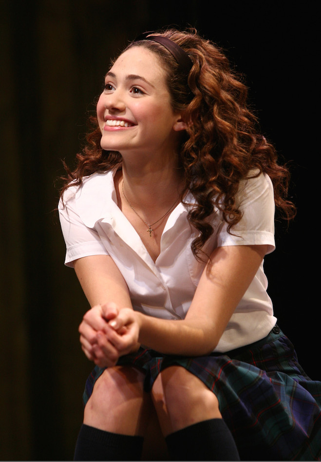 ROMEO AND JULIET, WILLIAMSTOWN 2006. EMMY ROSSUM. PHOTO: JOAN MARCUS.