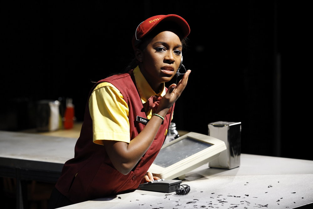 EDGEWISE. PLAY COMPANY, 2010. AJA NAOMI KING. PHOTO: CAROL ROSEGG.