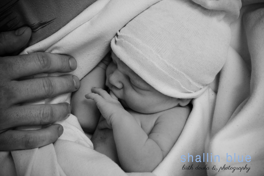 Birth photography by Shallin Blue