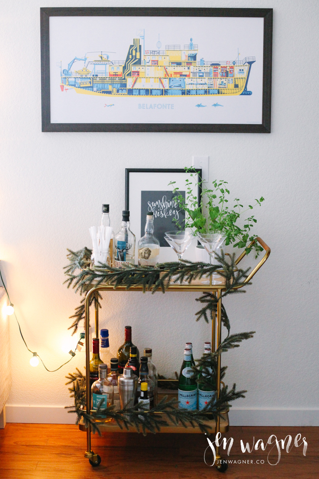 christmas-bar-cart