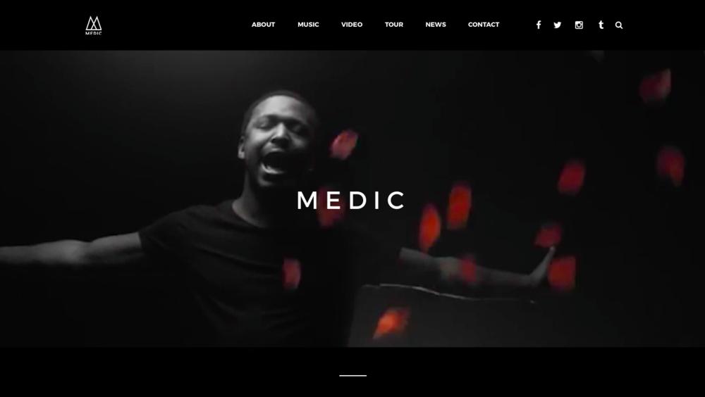 Medic Band Website