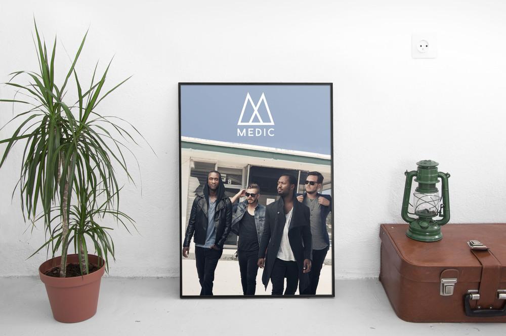 Medic Band Poster Mockup