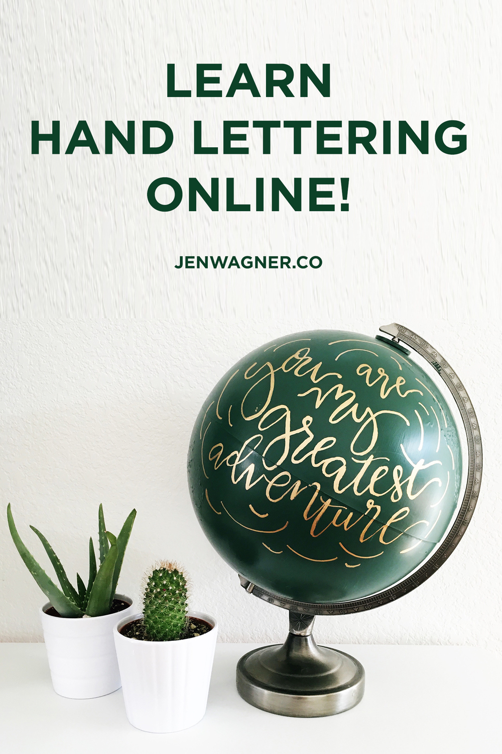 Advanced Hand Lettering eCourse by Jen Wagner & Jeanne Oliver Designs