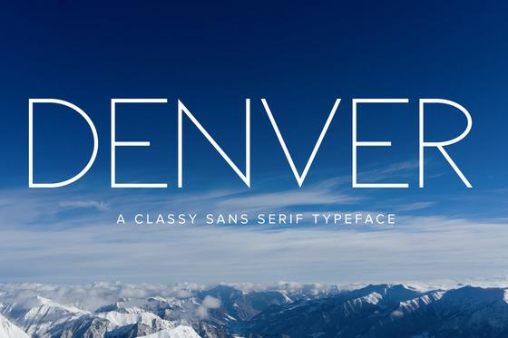 Denver Font Original