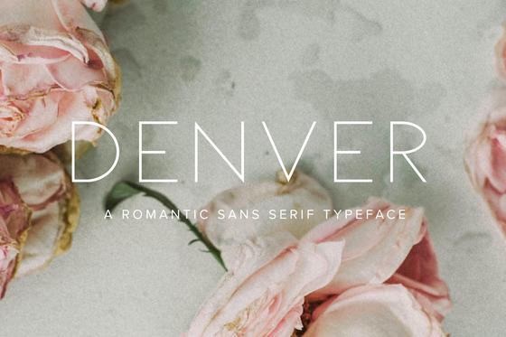 Denver Font New