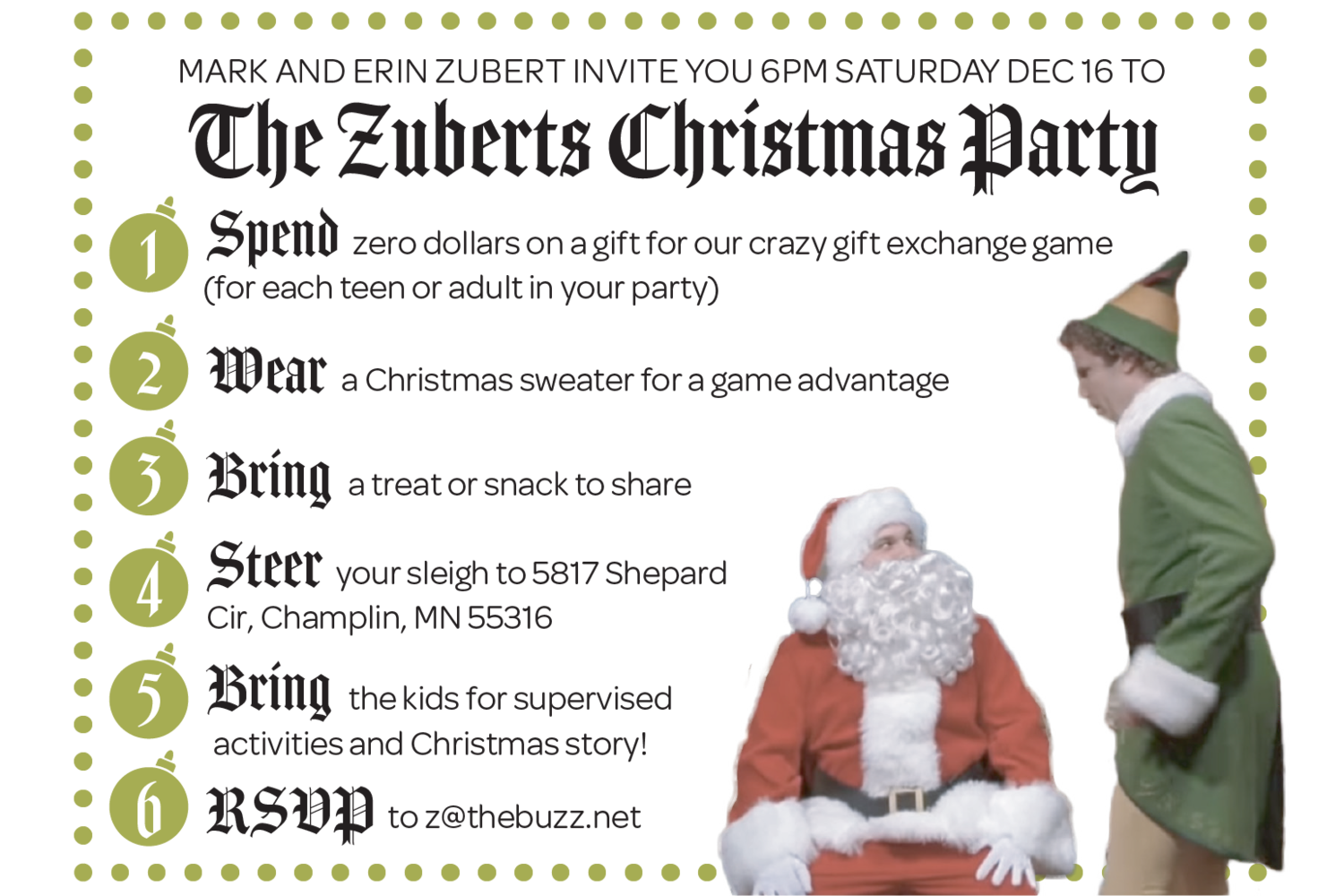 5th Annual Zubert\'s Christmas Party — Minneapolis Missional Church ...