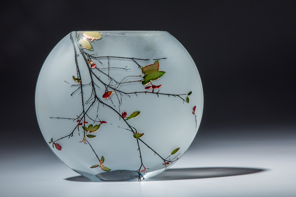 Delicate Line: Delicate Leaf, large fishbowl