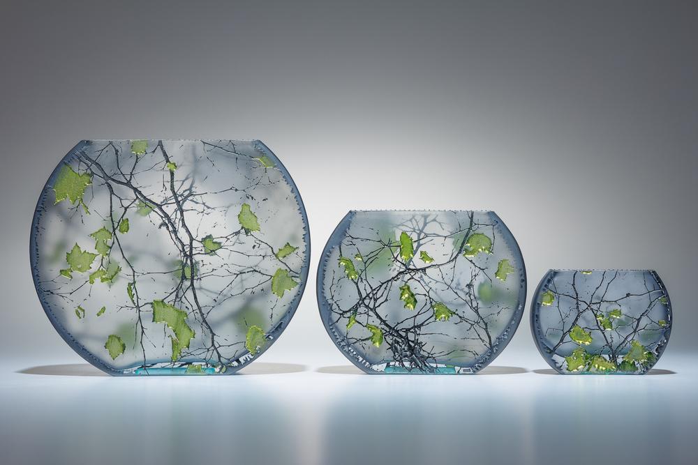 "flat fishbowls lg 7"" / m 5"" / sm 3.5"""