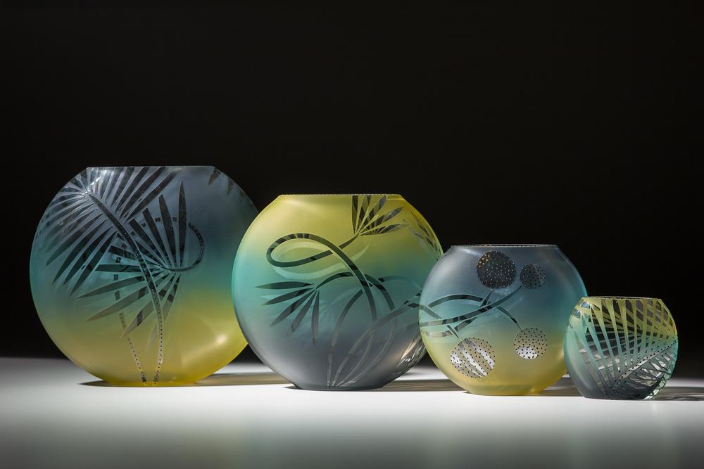 """fishbowls xl 8.5"""" / lg 7"""" / m 5"""" / sm 3.5"""""""