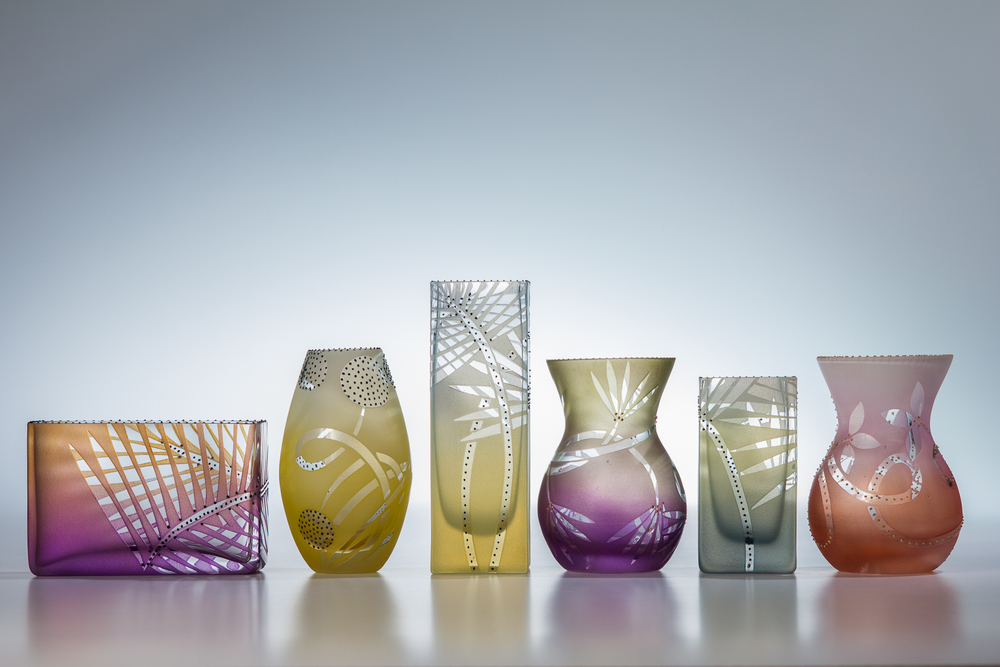 big tiny vases 3.5 - 5""