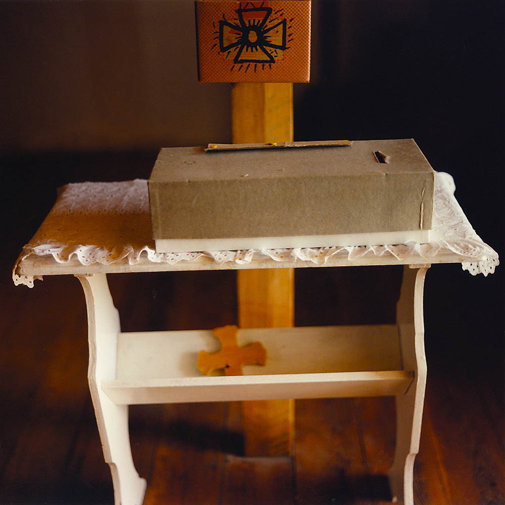 Donation Box - Truchas, NM 1998