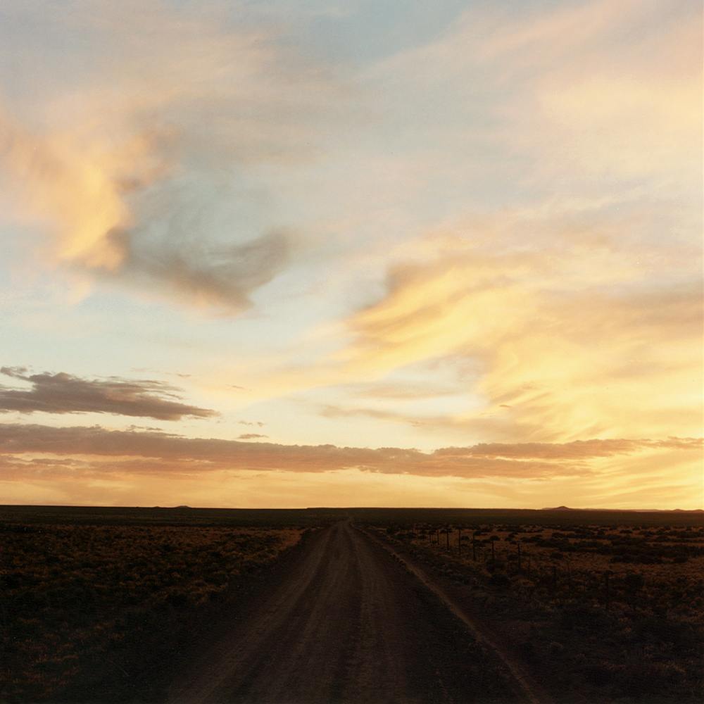 Road Sunset - Taos, NM 1990