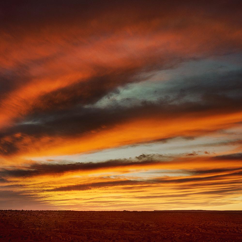 Red Sky - Hopi, AZ 1991