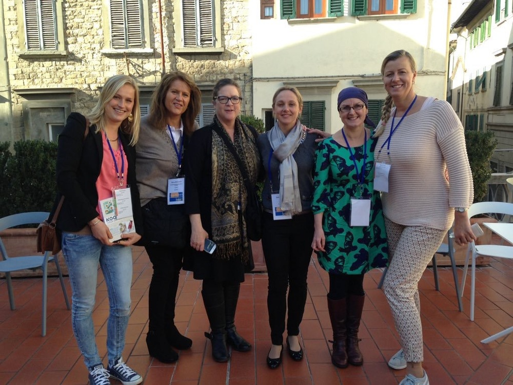 FODMAP dietitian friends from the Netherlands, UK, South Africa, and Ireland. Many of us already follow each other on Twitter, and it was lots of fun to meet in real life!