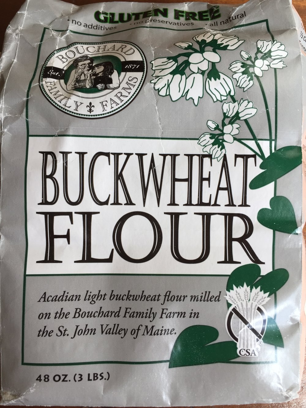 Have you ever tried light (aka silver-hulled) buckwheat flour?