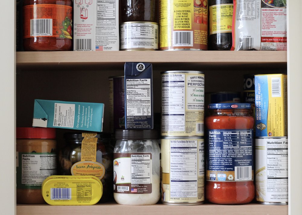 Label reading is difficult enough in your own kitchen, and more so in the aisles of a busy grocery store.