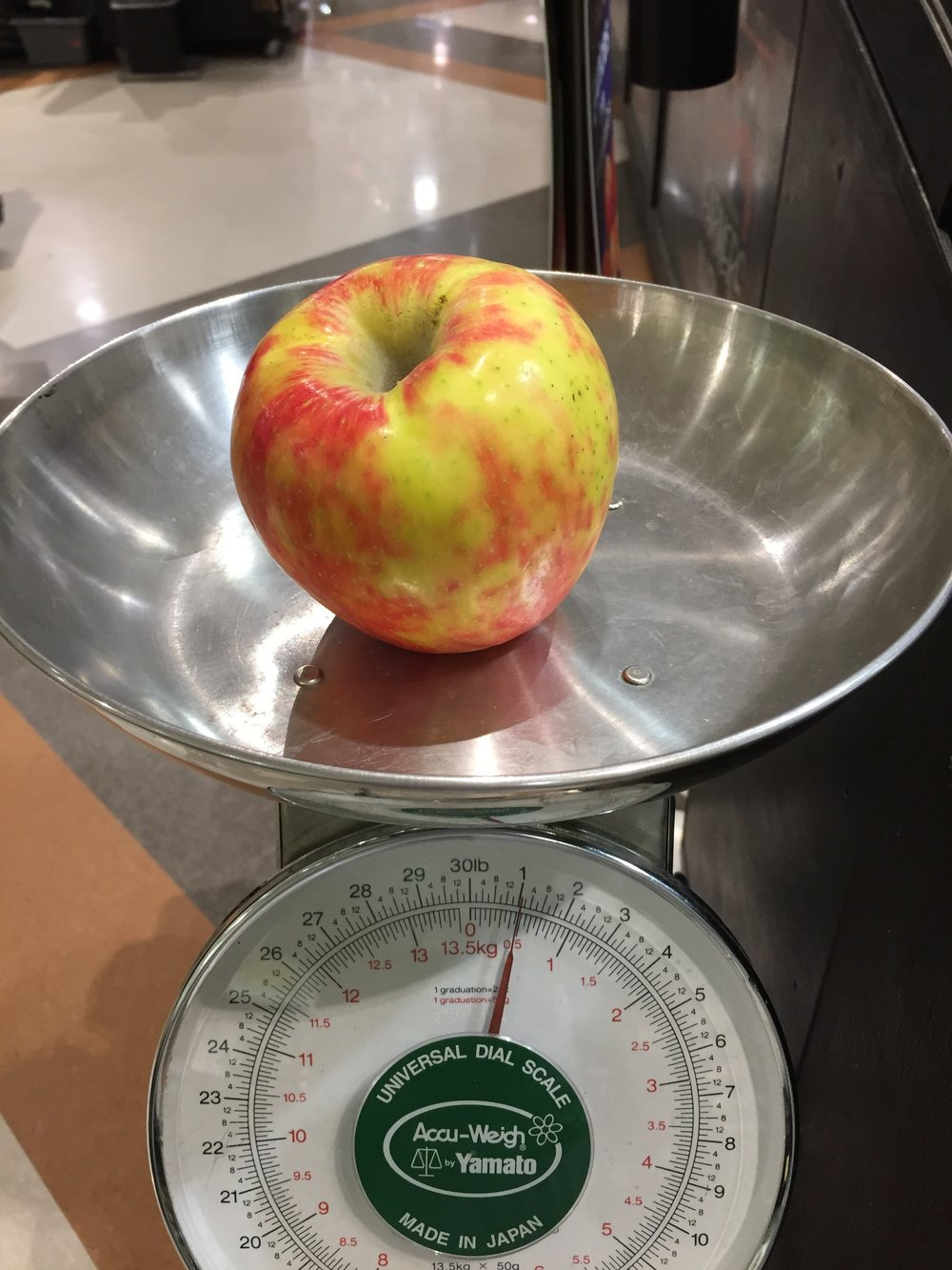 An apple a day... can actually be problematic for some people, especially if that apple weighs an entire pound!