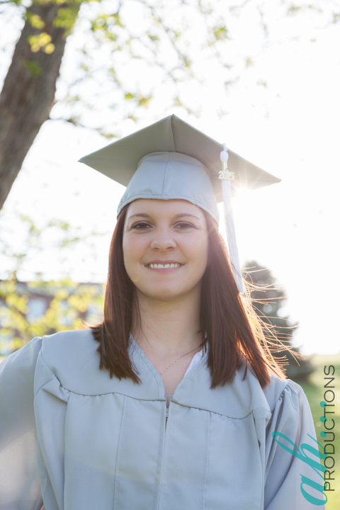 Emily's graduation, graduation photography, rogers state university