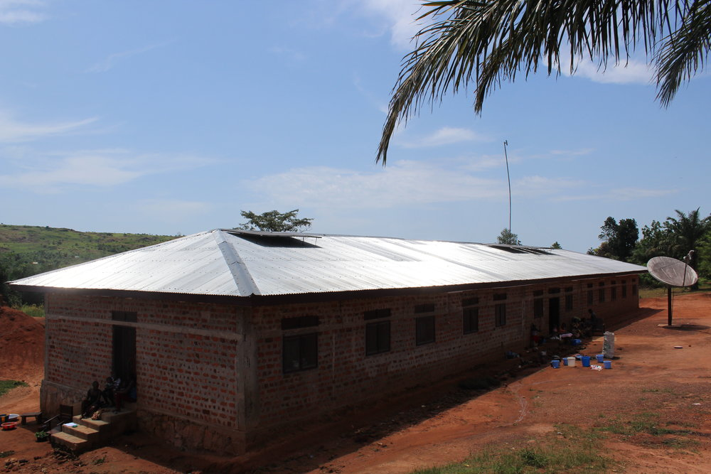 Children's Centre - The orphanage building was completed and dedicated in March 2013. The foundation and the walls are erected of baked clay bricks and cement mortar. These are the most durable building materials available in the area and will ensure a solid building that will provide shelter for Sabuli's children for many years to come. The orphanage consists of many rooms: two dormitory rooms, one each for the boys and the girls, a central common room for dining, a storage room, a computer room, and the beginnings of a nursery.