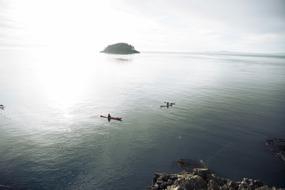 Kayakers at Deception Pass, WA