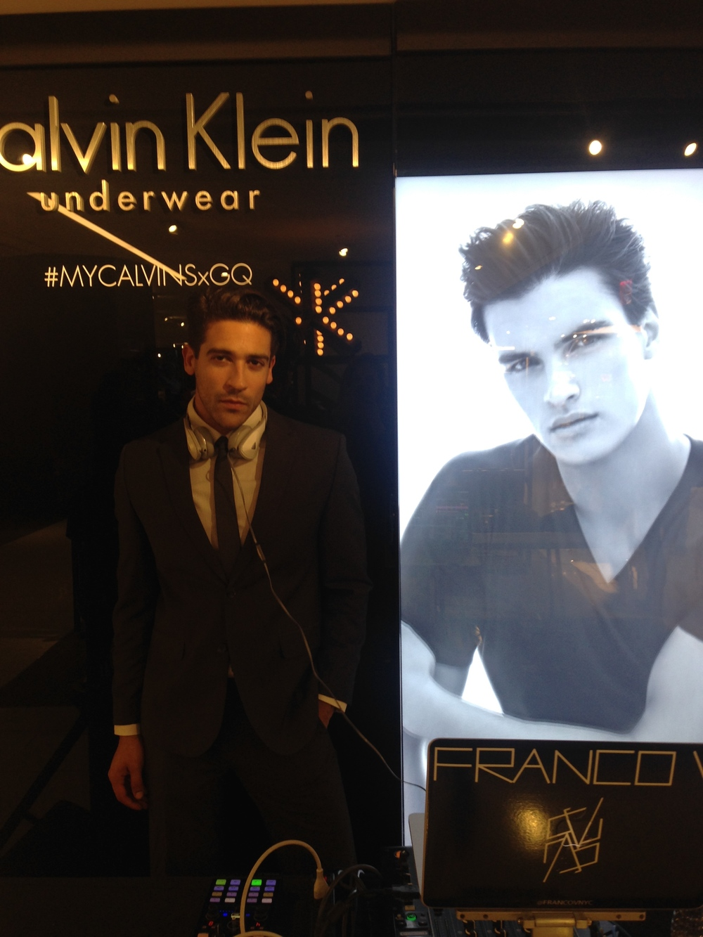 Franco V Djing for Calvin Klein x GQ