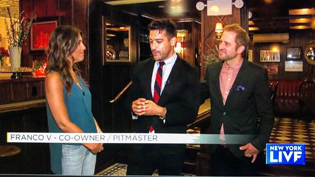 This little chat Nate and I had with @laurenscala about Holy Ground aired today on @newyorklivetv @nbcnewyork check it out on nbcnewyork.com!!! 👍🏽👌🏽😉