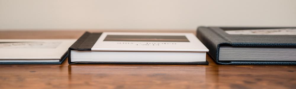 coffee table book, modern album + classic album