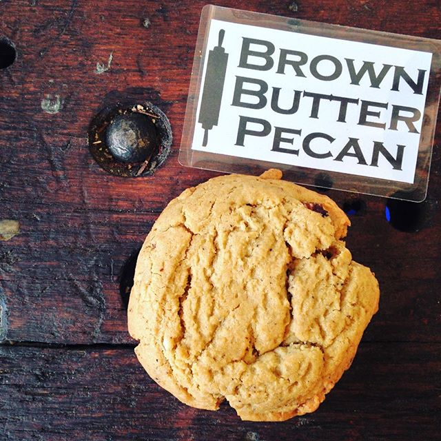 Come on by for our new cookie of the month ! Brown Butter Pecan. Limited time only!!! Oh... And HAPPY HALLOWEEN!!!! We will be closing at 6pm today since we want to go trick or treating too! Come show us your costumes! #moomilkbar #halloweeen #brown butter #cookie #cookies #yum #Toronto #treat #tastetoronto #vsco #vscocam #feedme #feedfeed #foodporn #foodgawker #delicious