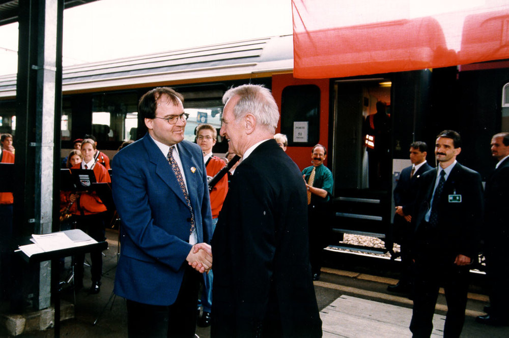 2000: Matthias Leuthold und Johannes Rau